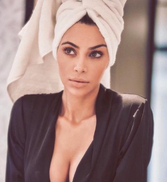 Kim Kardashian Shares Butt-Naked Photo From Racy British